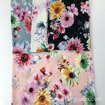 Nice Quality New Popular Rayon Semi-Digital Print Fibranne